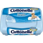 Cottonelle Fresh Flushable Moist Wipes Tub, Alcohol-free, Sewer and Septic-safe, 42 Count - Pk of 42 EA