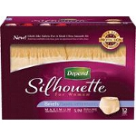Depend Silhouette Briefs for Women, Small/Medium, 28