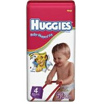 Huggies ® Snug and Dry Diapers for Kids Size 4 - BG of 52 EA