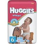 Huggies ® Snug and Dry Diapers for Kids Size 6 - BG of 40 EA
