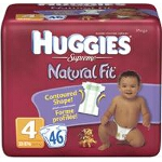 Huggies ® Supreme Diapers for Kids Size 4, 22 to 37 lb, Mega - BG of 46 EA