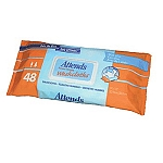 Attends Wash Cloths  ( 12 Packs of 48 Washcloths - Wipes ) 576/Case