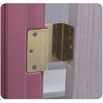 Mabis DMI Healthcare Duro-matic Door Hinge Brass, 2
