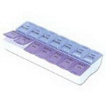 Apothecary Products Inc Twice A Day Pill Reminder, Pill Organizer - PK of 6 EA