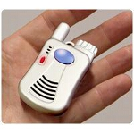Logicmark FreedomAlert Emergency Pendant, Two-way Voice Emergency Communicator, Portable, W.ater Resistant - 1 EA