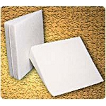 "Mason Medical Products Bed Wedge Cloth Cover 26"" x 24"" x 7-1/2"", White, Core is Solid Polyurethane Foam - 1 EA"