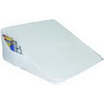 "Rose Healthcare Foam Bed Wedge with Pocket 24"" x 24"" x 10"", Blue - 1 EA"