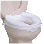 Sammons Preston Inc Savanah Raised Toilet Seat 2