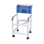 Medline Industries PVC Shower Chair 300 lb, 40