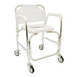 Mabis DMI Healthcare Shower Transport Chair 16