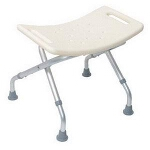 Mabis DMI Healthcare Folding Shower Seat without Backrest 18