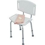 Mabis DMI Healthcare Blow-molded Bath Seat with Backrest 20
