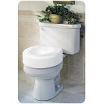 Medline Industries Guardian Economy Raised Toilet Seat 250 lb, 15-1/2