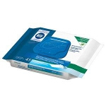 Tena Flushable Washcloths, Personal Care Wipes, 7.5