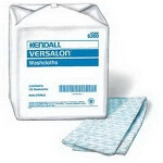 "Kendall Versalon Washcloths, Personal Care Wipes, 9-3/8"" x 13-1/2"", Blue - Qty: BG of 125 EA"
