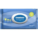 Professional Medical Supply Compliance Spunlace Moist Wipe 9