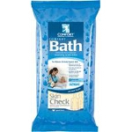 Sage Products Comfort Bath ® Cleansing Washcloths, Heavyweight, Non-Irritating - Qty: PK of 8 EA