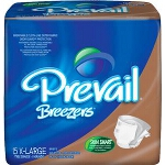 Prevail Breezer Adult Briefs, Diapers X-Large 59