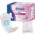 Attends ® Bladder Control Pads, Extra Plus, 12.5