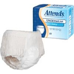 Attends ® Extra Absorbency Protective Underwear, Medium (34