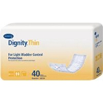 Dignity ® Lites Thinserts Slim Discreet and Effective Incontinence Pads 3-1/2