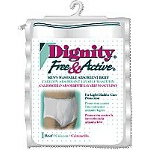 Dignity Free and Active Absorbent Protective Briefs Small, 30