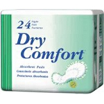 TENA ® Dry Comfort Bladder Control Night Pad, Green, Latex-free - Qty: BG of 24 EA