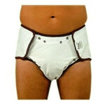 Fiberlinks Textiles Ultra Fit Reusable Brief, 24