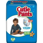 Prevail ® Cuties Training Pants Pull Ups for Boys, 3T-4T, 32 to 40 lb, Elastic waistband, Comfortable - Qty: PK of 23 EA
