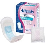 Attends ® Bladder Control Pads for Incontinence, Extra, 10.5