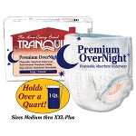 Tranquility Premium OverNight Disposable Absorbent Underwear Large 44