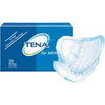 TENA ® Men Pad, White, Latex-free - Qty: PK of 20 EA