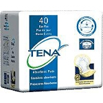 TENA ® Day Plus Pad, Yellow, Latex-free - Qty: PK of 40 EA