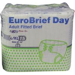Mediprime EuroBriefs Day Briefs, Adult Diapers Large 39