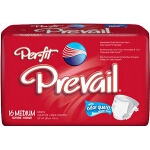 Prevail Per-Fit Adult Brief Medium White 32