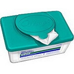 Kendall Wings Personal Cleansing Washcloths, Personal Care Wipes, 8-7/10