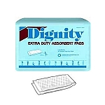 Dignity Extra Duty Double Pads 180/Case Moderate to Heavy Absorbency