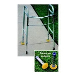 Sammons Preston Inc EasyGlider Walker Glider Bright Fluorescent, Fits over Industry-Standard Walker Tips 1-1/8