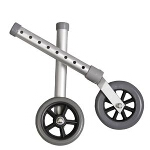 Medline Industries Walker Fixed Wheel Kit 5