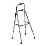 Mabis DMI Healthcare Folding Aluminum Hemi-walker Chrome, 30