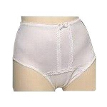 Ladies Premier Plus Panty Extra-large, White, Full Cut, 45