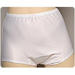 Ladies Premier Plus Panty Medium, White, Full Cut, 33