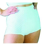 HealthDri Washable Women's Heavy Bladder Control Panties 20 Size, White, Holds 6Oz, 54