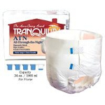 Tranquility ATN (All-Through-the-Night) Disposable Brief Extra-Small, 18