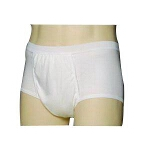 HealthDri Light & Dry One Piece Bladder Protection for Daytime Bladder Control Panties for Waistomen Large, White, 30