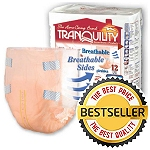 Tranquility SlimLine ® Breathable Brief Medium, 32